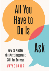 Cover (kleur) boek All you have to do is ask